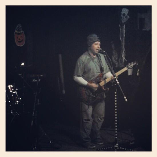 Steve with Jericho Theory (Nov. 2012)