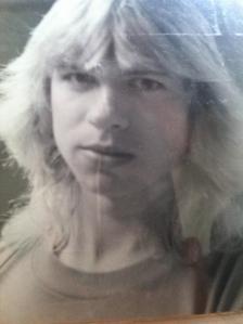 """Steve Kaczynski - undated photo (""""shortly after high school"""")"""
