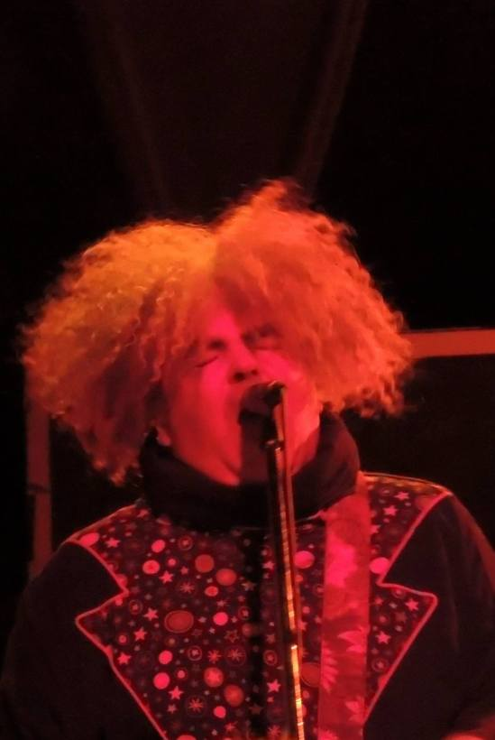 Buzz Osborne (with the Melvins) in Pittsburgh, 27 May 2013