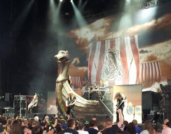 Amon Amarth in Burgettstown, PA - July 2013