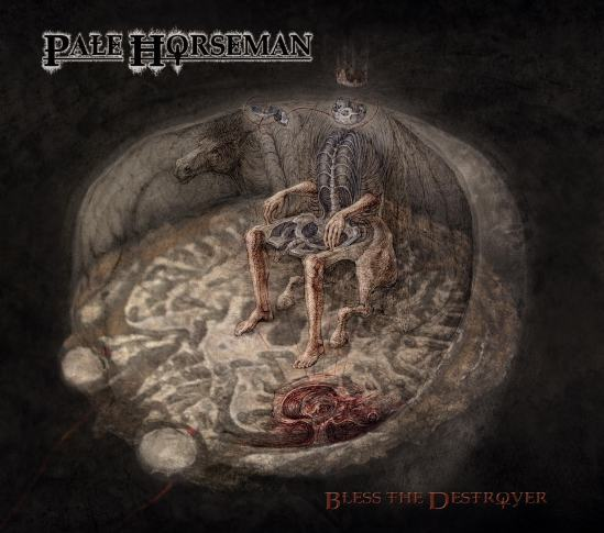 Pale Horseman - Bless The Destroyer (2015) cover